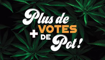 Plus de votes, plus de pot!