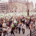 6 mai 2000 : Marche du millénaire dans les rues de Montréal