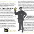 Dépliant électoral - 9 avril 2001 - Votons Pierre Audette!