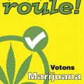Affiche électorale du Parti marijuana, 2004