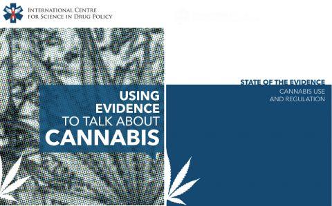 Page frontispice des rapports de l'ICSDP concernant l'usage du cannabis et sa réglementation