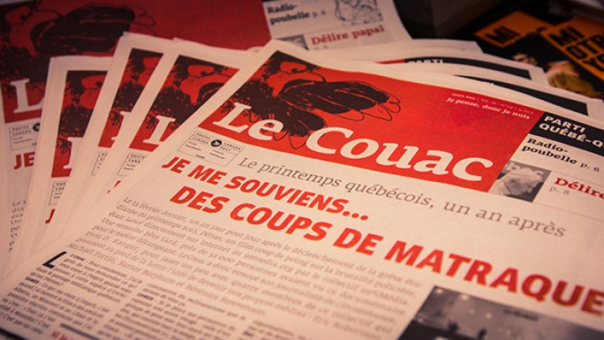 Journal satirique Le Couac - Photo : Coopérative Molotov