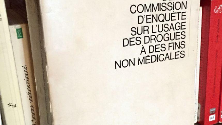 Rapport final de la Commission d'enquête sur l'usage des drogues à des fins non médicales
