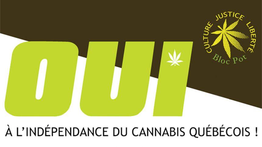 Oui à l'indépendance du cannabis québécois !