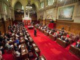 Le Sénat canadien à Ottawa